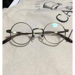 アヤメ(Ayame)のジョンレノン 丸眼鏡 形状記憶フレーム 新古品 ブロンズ アンティーク ブラウン(サングラス/メガネ)