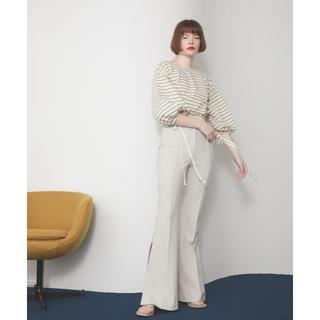 ロザリームーン(Rosary moon)の【新作】Stretch Side Slit Pants(カジュアルパンツ)