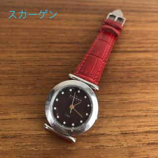 SKAGEN - SKAGEN 腕時計 ベルト・電池交換済み