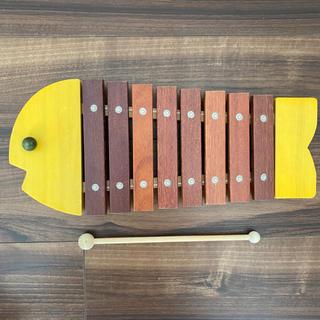 BorneLund - ボーネルンド おさかな シロフォン 木琴 バチ