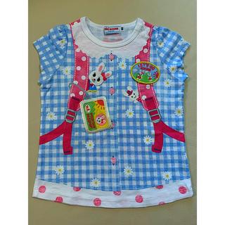 ミキハウス(mikihouse)のミキハウス★だまし絵Tシャツ★80サイズ(Tシャツ)