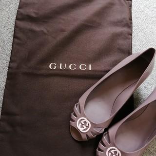 グッチ(Gucci)の【期間限定値下げ】グッチGUCCI レインシューズ(箱あり)(レインブーツ/長靴)