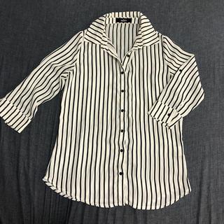 サリア(salire)のsalire ストライプシャツ(シャツ/ブラウス(長袖/七分))