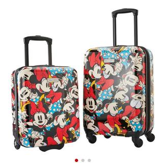 アメリカンツーリスター(American Touristor)のアメリカンツーリスター メンズ スーツケース ディズニー ミニーちゃん 2点(スーツケース/キャリーバッグ)
