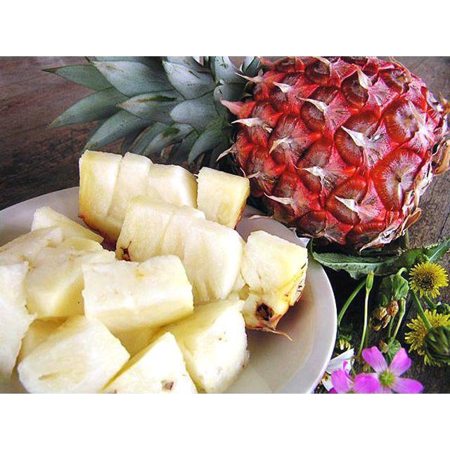 沖縄県八重山産ピーチパイン約3キロ|桃のような香りと甘さがGOOD! 食品/飲料/酒の食品(フルーツ)の商品写真