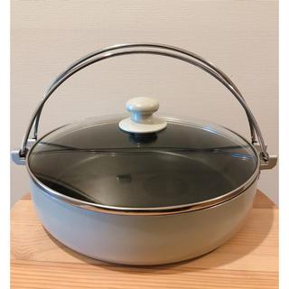 ムジルシリョウヒン(MUJI (無印良品))のすき焼き鍋 鍋物 鍋 無印 ニトリ カインズ イケア スコープ 北欧 イデー(鍋/フライパン)