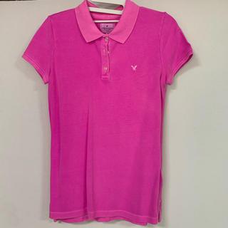 アメリカンイーグル(American Eagle)のアメリカンイーグル ポロシャツ ピンク(ポロシャツ)