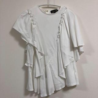 ドゥロワー(Drawer)のdrawer★アシンメトリー カットソー(Tシャツ(半袖/袖なし))