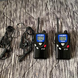 特定小電力トランシーバー(アマチュア無線)