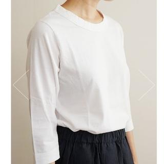 スピックアンドスパン(Spick and Span)の専用 ホームスパン 7部袖Tシャツ(Tシャツ(長袖/七分))