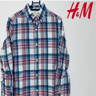エイチアンドエム(H&M)のH&M チェックシャツ ネルシャツ(シャツ)