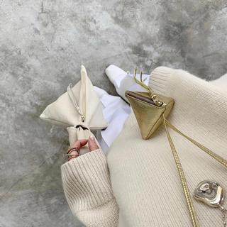 フレームワーク(FRAMeWORK)のはちみつ様専用❤〖CHIEKO〗ミニトライアングル GOLD(ネックレス)