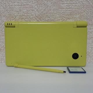 ニンテンドーDS(ニンテンドーDS)の中古★ニンテンドーDSi ライムグリーン本体 SDカード、タッチペン付き 完動品(携帯用ゲーム機本体)