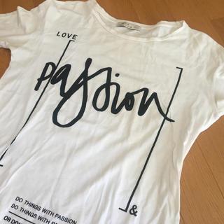 ベルシュカ(Bershka)のベルシュカ 白Tシャツ M (Tシャツ(長袖/七分))