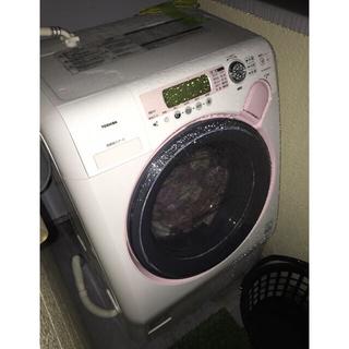 東芝 - TOSHIBA ピンクかわいいドラム式洗濯機