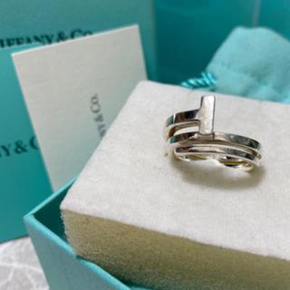 ティファニー(Tiffany & Co.)のお値下げtiffany  スクエアラップリング 8号(リング(指輪))