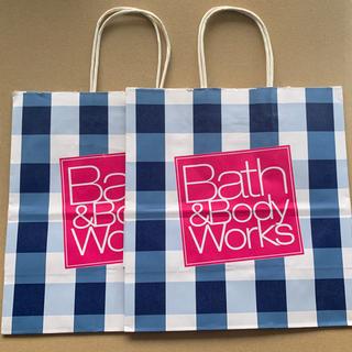 バスアンドボディーワークス(Bath & Body Works)のBath & Body Works ショッパー2枚(ショップ袋)