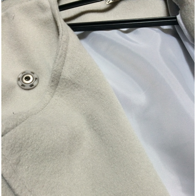 トレンチコート(グレー) レディースのジャケット/アウター(トレンチコート)の商品写真
