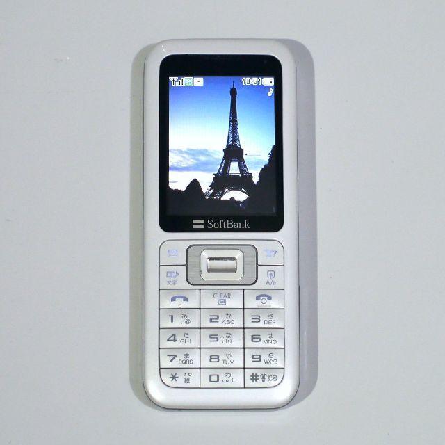731SC ホワイト シムフリー スマホ/家電/カメラのスマートフォン/携帯電話(携帯電話本体)の商品写真