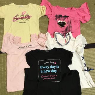 ジェニィ(JENNI)のジェニィ 160 Tシャツとワンピース(Tシャツ/カットソー)