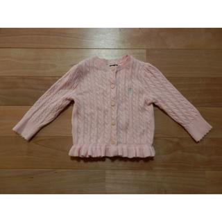 ラルフローレン(Ralph Lauren)のラルフローレン 女の子用カーディガン サイズ12M(12か月≒1歳児)(カーディガン)