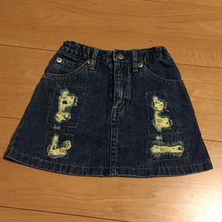 ディズニー(Disney)の《美品》Disney ディズニー ☆ 90 デニムスカート(スカート)