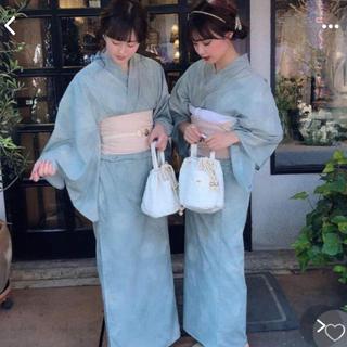 ワンアフターアナザーナイスクラップ(one after another NICE CLAUP)のrili tokyo 浴衣・帯セット よもぎもち(浴衣)