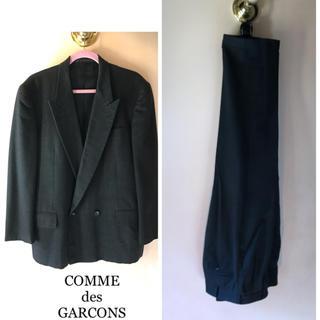 COMME des GARCONS - COMME des GARCONS 90's ワイドパンツ セットアップ ダブル