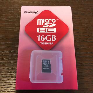 東芝 - microSD16Gバイト