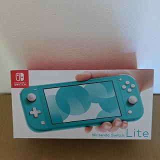 Nintendo Switch  SWITCH LITE ターコイズ(携帯用ゲーム機本体)