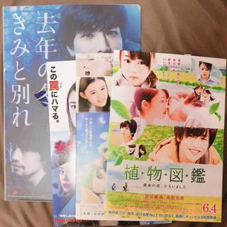 サンダイメジェイソウルブラザーズ(三代目 J Soul Brothers)の岩田剛典 ファイル、映画フライヤーセット(印刷物)