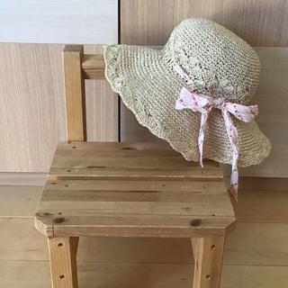 シマムラ(しまむら)の麦わら帽子(帽子)