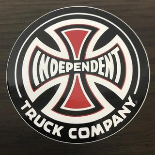 インディペンデント(INDEPENDENT)の【直径7.6cm】independent ステッカー(スケートボード)