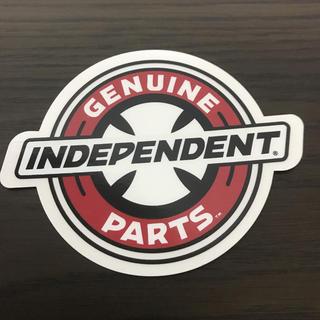 インディペンデント(INDEPENDENT)の【縦8cm横10.3cm】independent ステッカー(スケートボード)