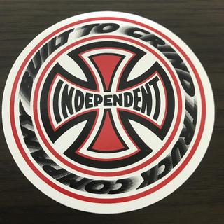 インディペンデント(INDEPENDENT)の【直径15.3cm】independentステッカー 大(スケートボード)