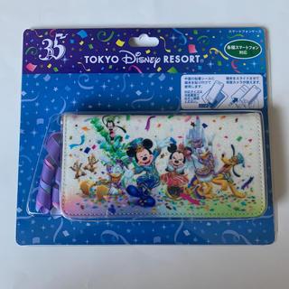 ディズニー(Disney)の東京ディズニーリゾート35周年 スマートフォンケース(モバイルケース/カバー)