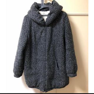 オゾック(OZOC)のOZOC・モコモココート・防寒・毛布・L・40・ミックスグレー(ロングコート)