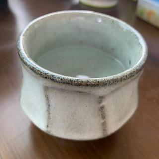 陶器の器 グレー(陶芸)