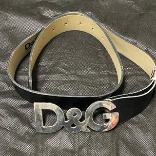 ドルチェアンドガッバーナ(DOLCE&GABBANA)のドルチェ&ガッパーナ D&G ベルト 黒(ベルト)
