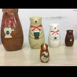 タリーズコーヒー(TULLY'S COFFEE)のタリーズ ハッピーバッグ景品(ぬいぐるみ/人形)