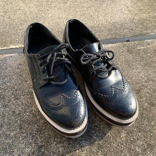 フォーエバートゥエンティーワン(FOREVER 21)のオックスフォードシューズ 23〜23.5cm(ローファー/革靴)