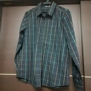ハニーズ(HONEYS)のグリーンチェックシャツ☆未使用品☆(シャツ/ブラウス(長袖/七分))