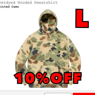 シュプリーム(Supreme)のOverdyed Hooded Sweatshirt シュプリーム(パーカー)