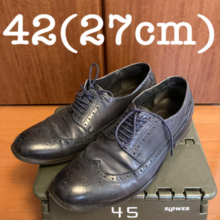 ナノユニバース(nano・universe)のレザーシューズ革靴PETER&Co42(27cm)(ドレス/ビジネス)