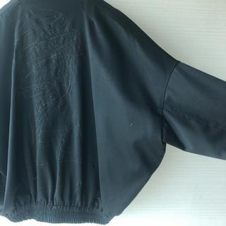 Sise - 【値下げ】刺繍 バルーンブルゾン ドロップショルダー オーバーサイズ