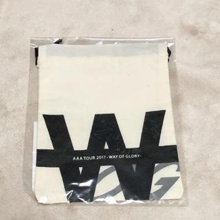 トリプルエー(AAA)のAAA オリジナル巾着(ポーチ)