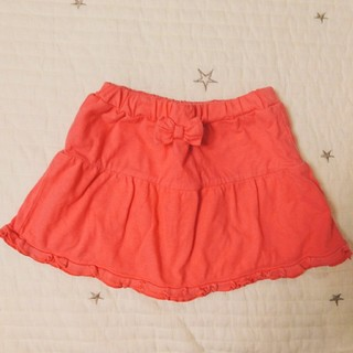 コンビミニ(Combi mini)の90cm☆ピンク☆キュロット スカート(スカート)