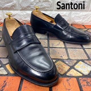 サントーニ(Santoni)のSantoni サントーニ コインローファー ビジネスシューズ 革靴(ドレス/ビジネス)
