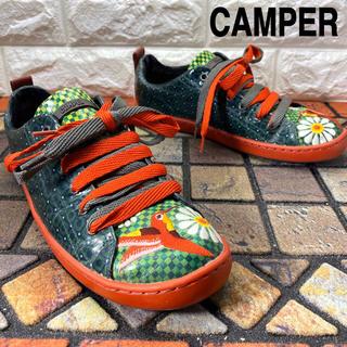 カンペール(CAMPER)の◎美品 CAMPER カンペール スニーカー 靴 刺繍(スニーカー)