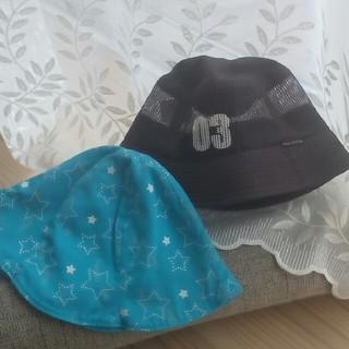 ユニクロ(UNIQLO)の【新品未使用】子供用帽子2個セット❗(帽子)